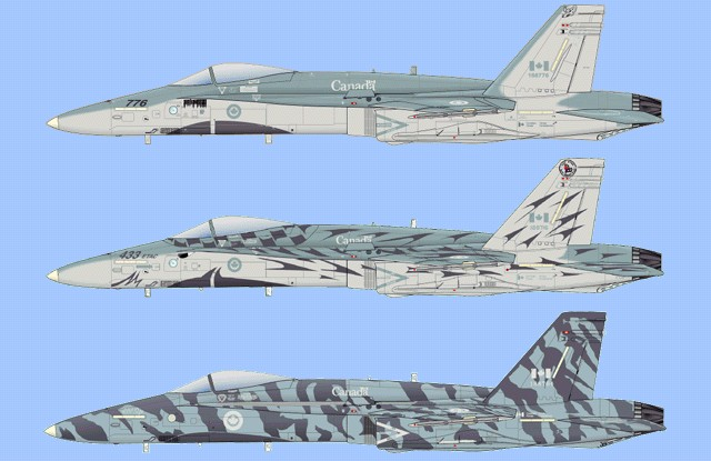 cf 18 tiger meet decals and stickers