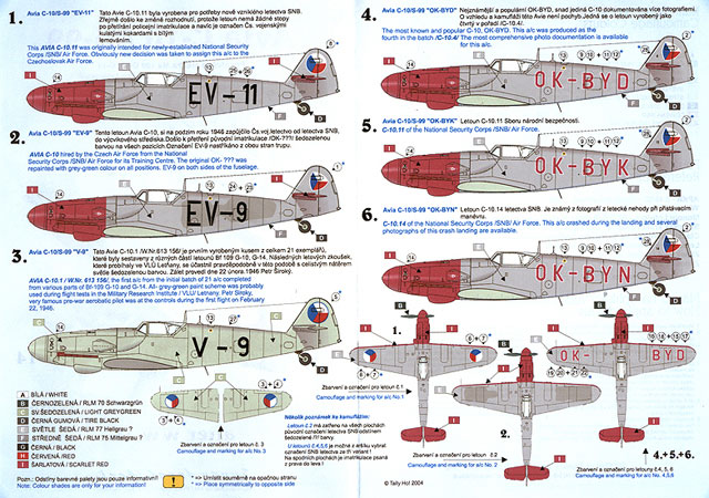 avia c 10 s 99 decal review by jim baker tally ho 1 48
