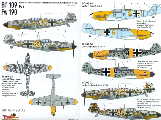 Luftwaffe Im Focus Edition No.9 - Bi-Lingual Ref, Unpublished Pics - RARE and OOP!