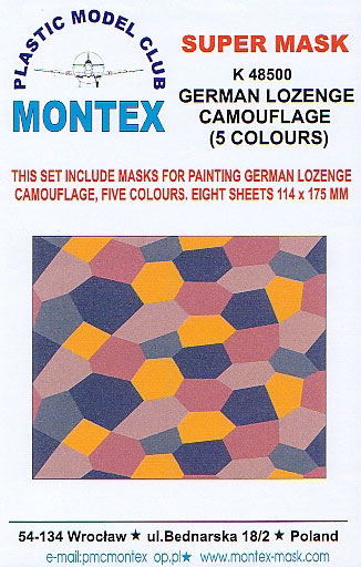 German Lozenge Camouflage Masks Review by Rob Baumgartner (Plastic ...
