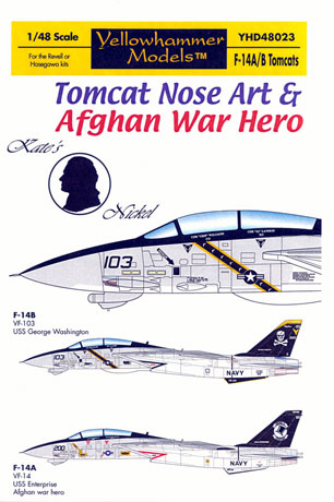 F 14a Tomcats Afghan War Heroes Decal Review By Rodger